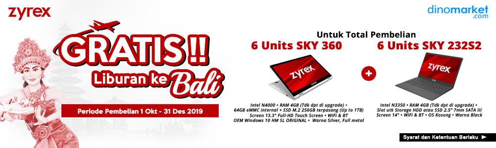 Zyrex To Bali