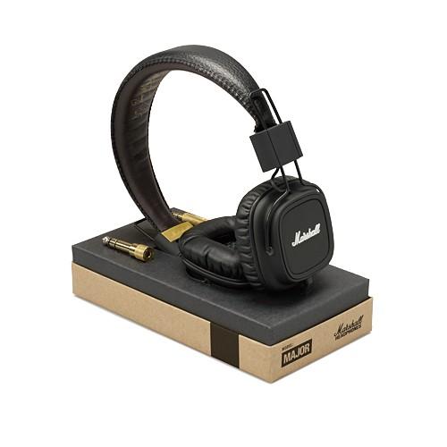 Marshall Headphones Major Mic - Black