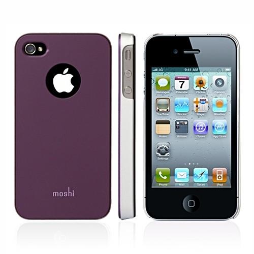 Moshi Case for iPhone 4 iGlaze - Purple