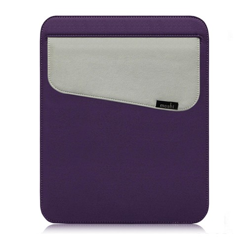 Moshi Case iPad Muse Sleeve Cover for iPad 1/2/3 - Tyrian Purple