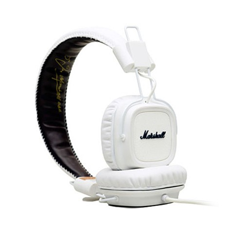 Headphone Marshall Major Mic - White