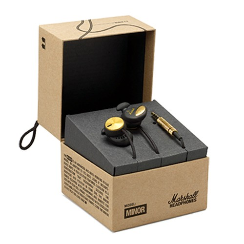 Marshall Minor Earphones - Black