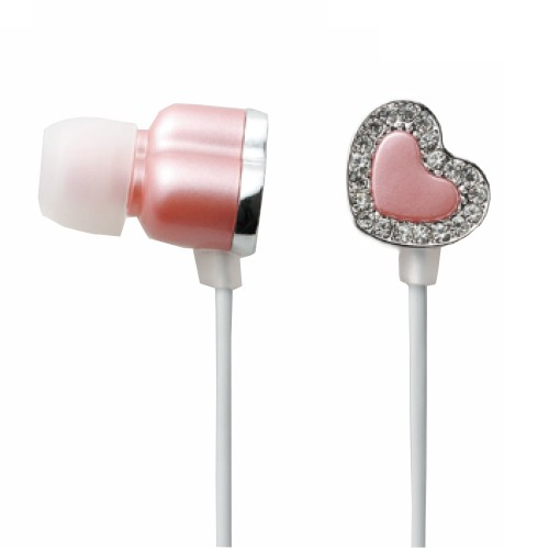 Elecom In-Ear Headphone Drops Tiara EHP-AIN110PND - Deep Pink