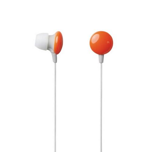 Elecom In-Ear Headphone Sundries Colors EHP-CIN20DR - Orange