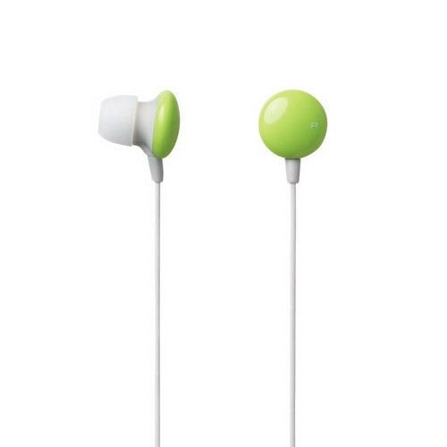 Elecom In-Ear Headphone Sundries Colors EHP-CIN20GN - Green