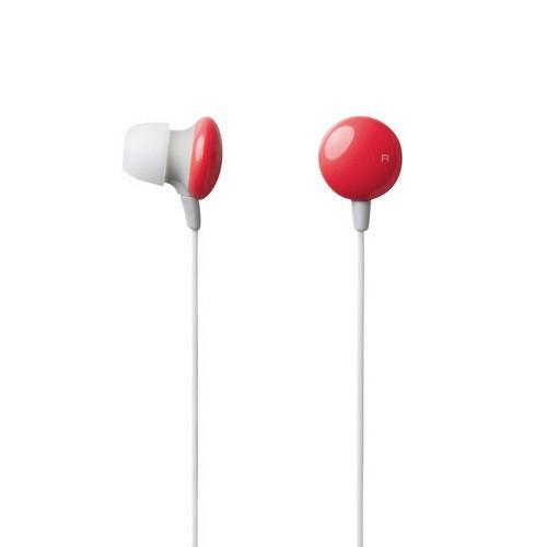 Elecom In-Ear Headphone Sundries Colors EHP-CIN20RD -Red