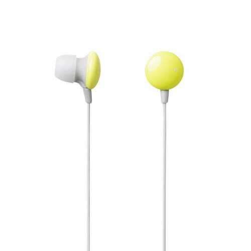 Elecom In-Ear Headphone Sundries Colors EHP-CIN20YL - Yellow