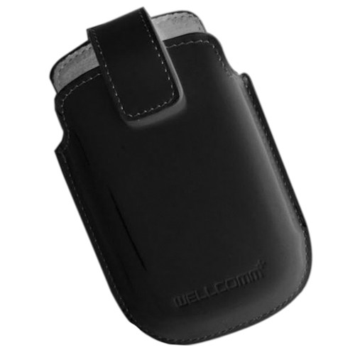 Wellcomm Pouch iPhone 4/4S Case YCW - Black