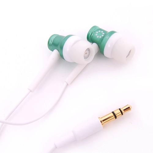 Memorex In-Ear Headphones - Green