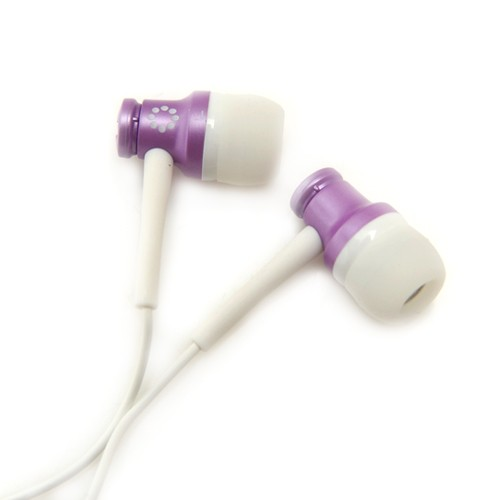 Memorex In-Ear Headphones - Purple