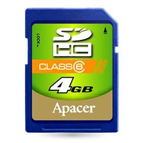 Apacer Memory Card SDHC 4GB