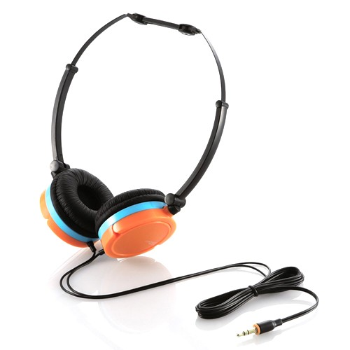 Elecom On-Ear Headphone EHP-OH100DR - Orange