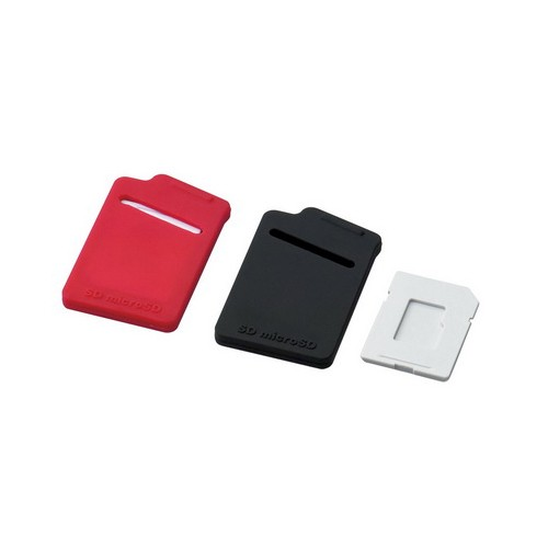 Elecom Memory Case CMC-10RD - Red Black