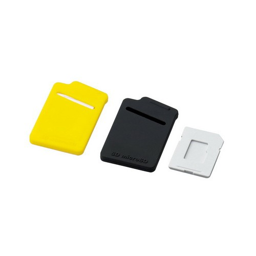 Elecom Memory Case CMC10YL Yellow Black