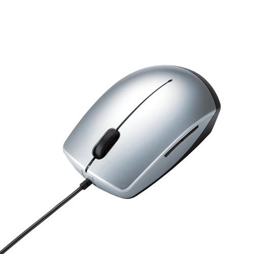 Elecom Mouse M-R2URSV - Silver