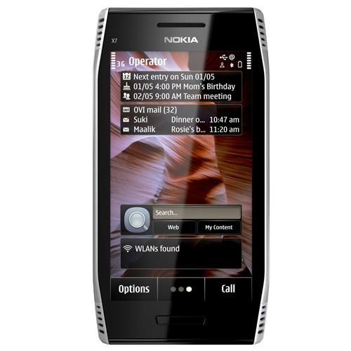 Nokia X7-00 - Light Steel