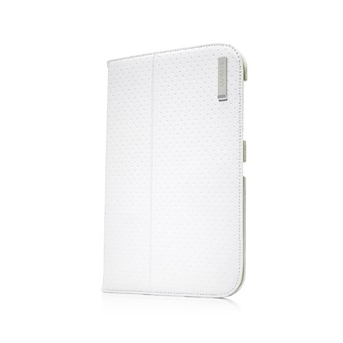 Capdase Protective Case Samsung Galaxy Tab 7 Plus Folio Dot - White