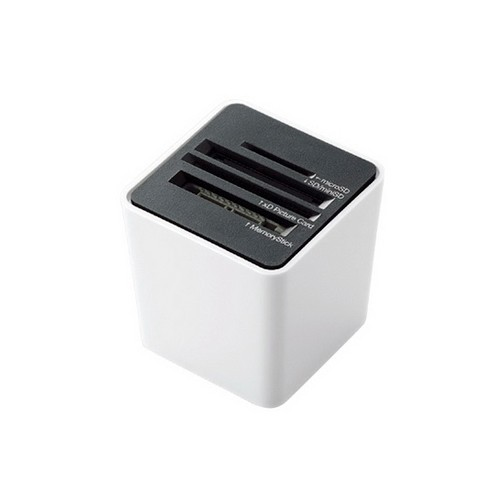 Elecom Card Reader MR-C14WH - White