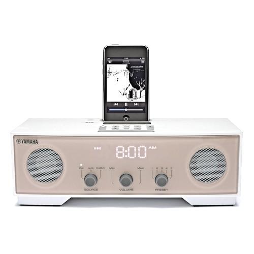 Yamaha Speaker Dock iPod TSX80 - Ivory