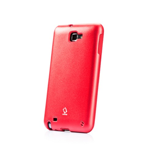 Capdase Case Alumor Metal for Galaxy Note - Red