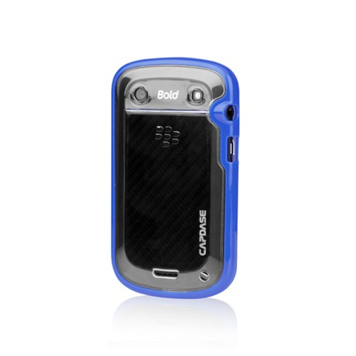 Capdase Soft Jacket Case BlackBerry Bold 9900 Dakota Fuze DS - Blue