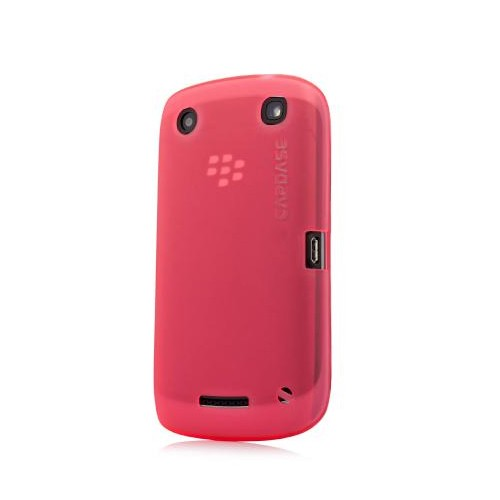 Capdase Case BlackBerry Curve 9380 Orlando Soft Jacket Xpose 2 - Transparant Red