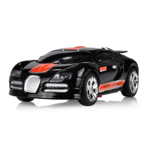 Dexim AppSpeed RC Race Car For iPod Touch / iPhone / iPad  - Black