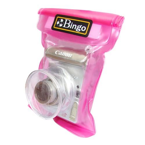 Bingo Sarung Kamera Anti Air Zipper Lock WP01-04 - Pink