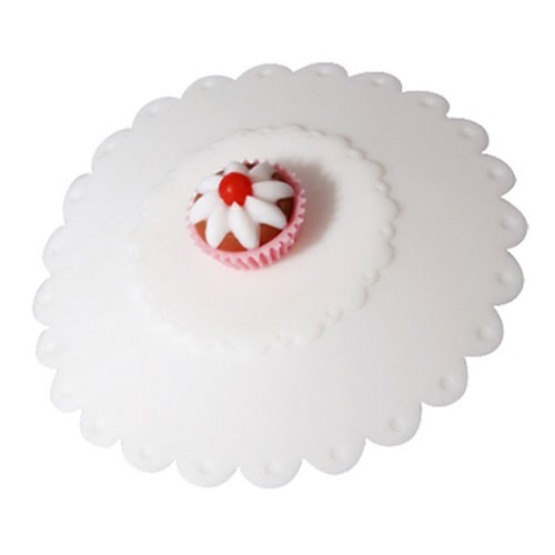 Zans CupCakes Magic Cup Cap - White