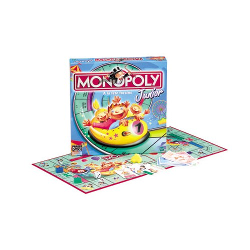 MONOPOLY Junior The Rollercoaster Money Game