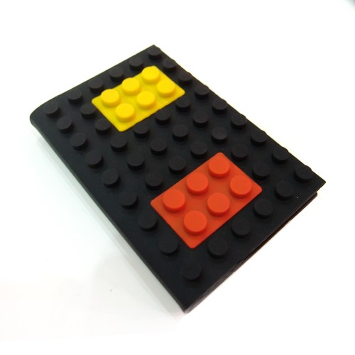 ROOM Playbricks Blank NoteBook - Black