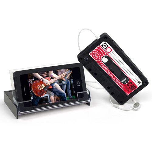 FRED Tuned Up Case & Stand for iPhone 4/4S - Black