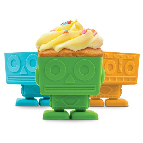 FRED Tempat Kue YumBots Cup Cake Holder