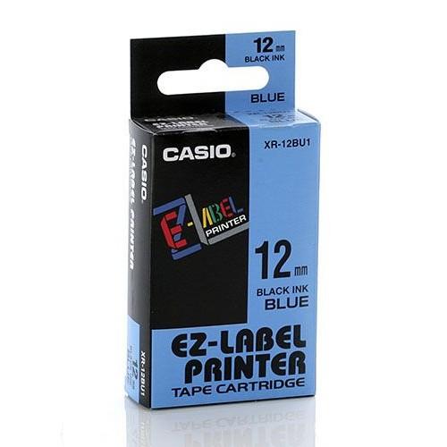 Casio Color Tape 12mm XR-12BU1 - Blue