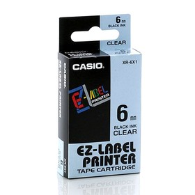 Casio Color Tape 6mm XR-6X1