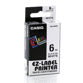 Casio Color Tape 6mm XR-6WE