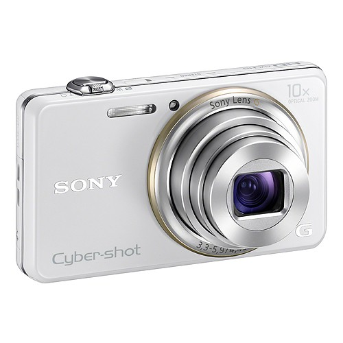 Sony Cyber-shot Camera DSC-WX100 - White