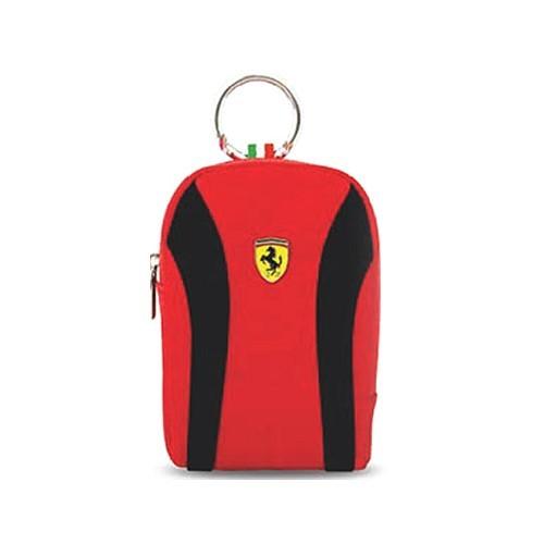 Ferrari Camera Bag Medium V2 - Black