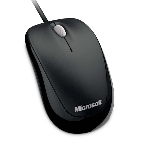 Microsoft Mouse Optical Compact 500 - Black