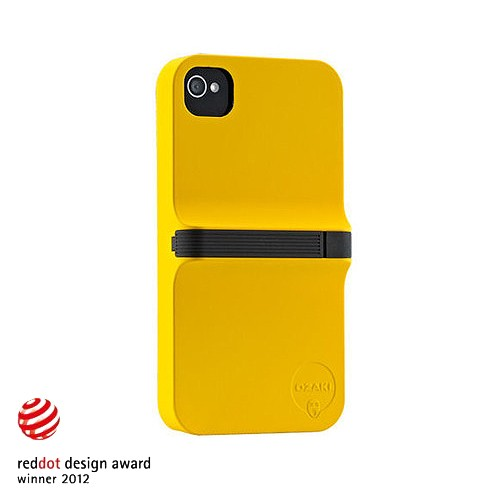 Ozaki Case iPhone 4/4S iCoat Finger - Yellow