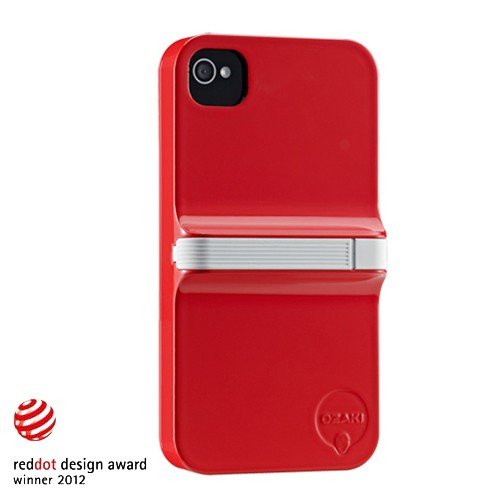 Ozaki iCoat Finger for iPhone 4/4S - Red