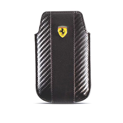Ferrari Sleeve Challenge Case for BlackBerry - Black