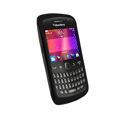 Aprolink Case Shell Dual Material for BlackBerry Curve 9360 Apollo - Black