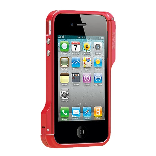 Ozaki Case iPhone 4/4S O!Photo Bumper - Red
