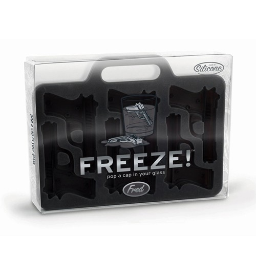 FRED Cetakan Es Batu - Freeze! Ice Cube Maker - Grey