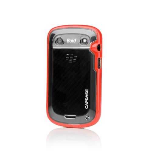 Capdase Soft Jacket Case BlackBerry Bold 9900 Dakota Fuze DS - Brick Red