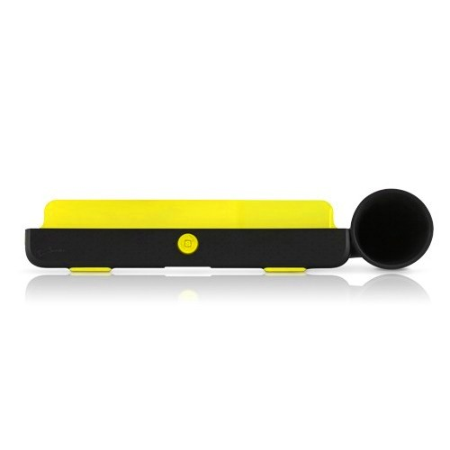 BoneCollection Horn Stand for iPad 2 - Black/Yellow