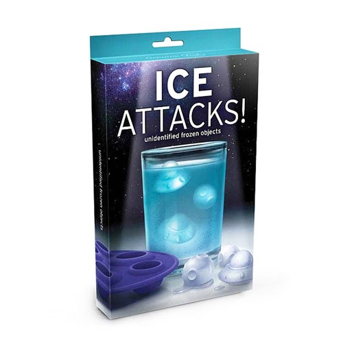 FRED Cetakan Es Batu - Ice Attacks Ice Cube Maker