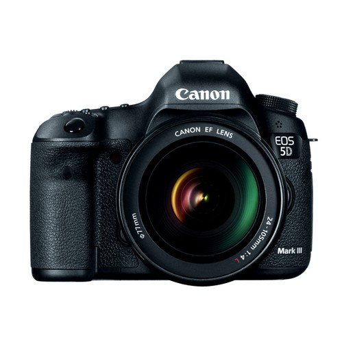 Canon Camera DSLR EOS 5D Mark III with EF 24-105mm f/4 L