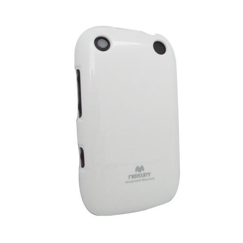 Wellcomm Case Armstrong Mercury Jelly for BlackBerry 9320 - White